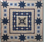 1st Place Quilt by Debra